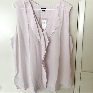 NWT Ann Taylor 100% Silk Blouse $80 XXL